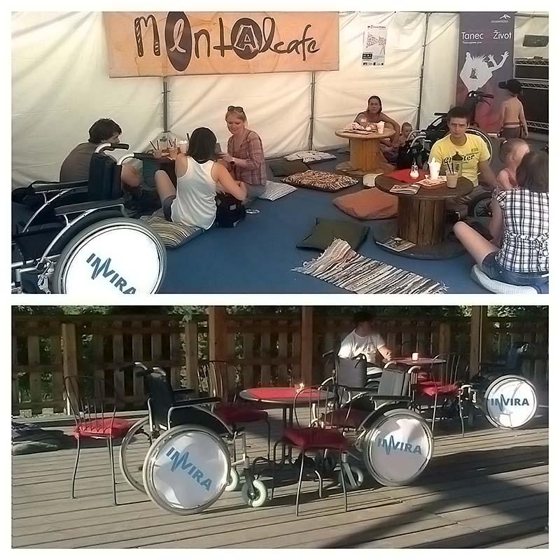 VOZÍČKY PRO MENTAL CAFÉ - COLOURS OF OSTRAVA 2013