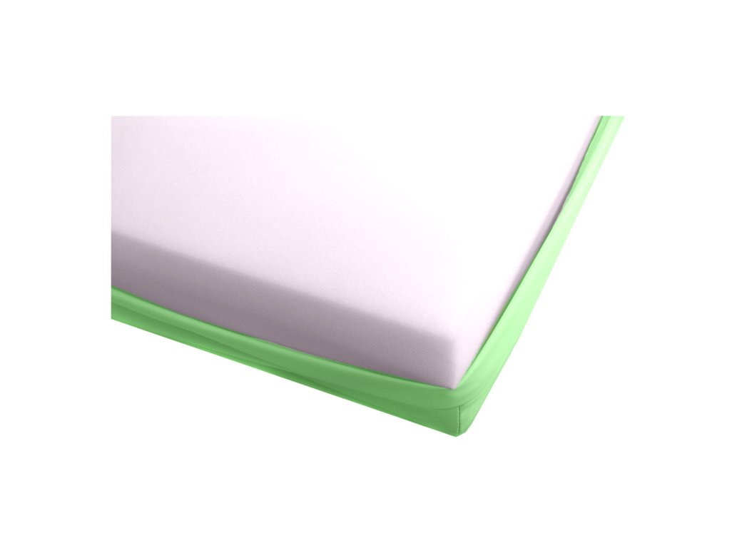 Matrace s paropropustným potahem - Zelená