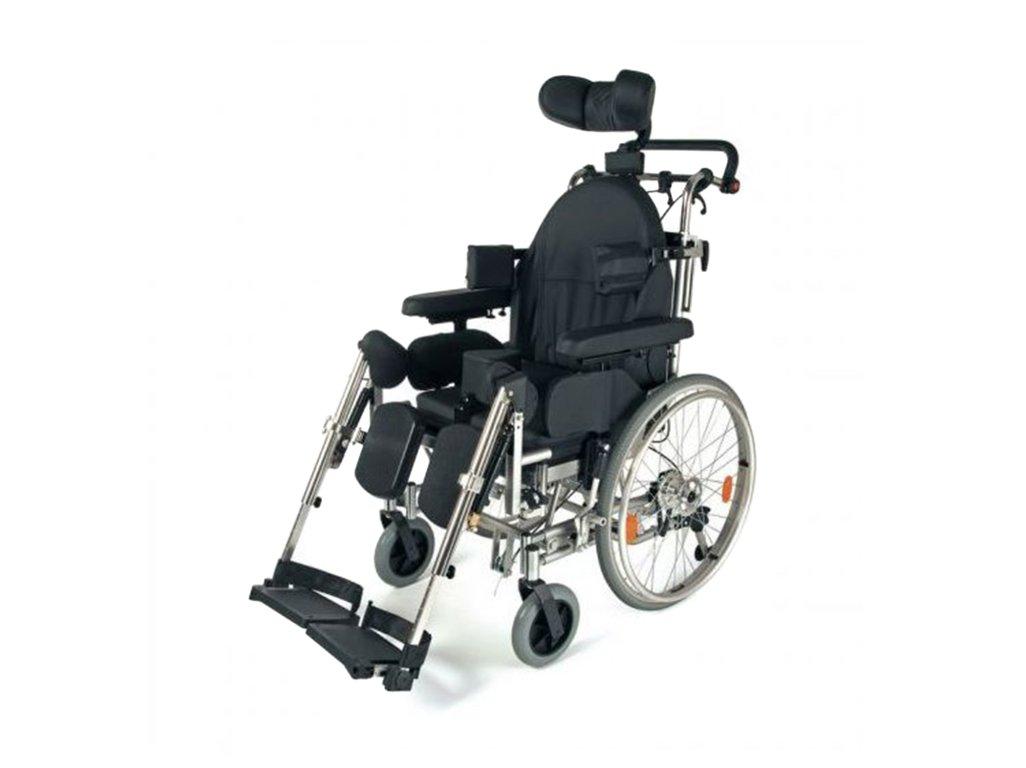 Měsíční pronájem invalidního mechanického polohovacího vozíku