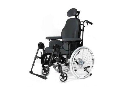 Polohovací mechanický invalidní vozík