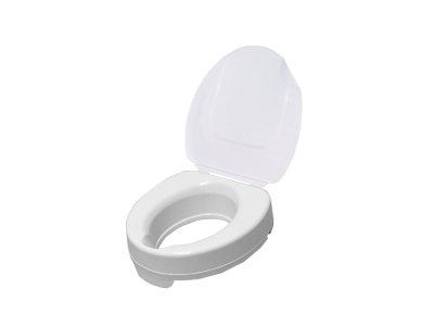 Nástavec na WC s poklopem - výška 10 cm